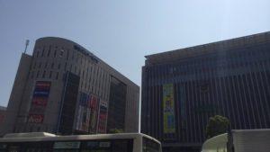 博多駅と博多バスターミナル