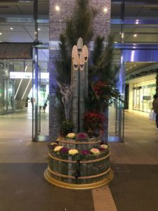 博多駅の門松
