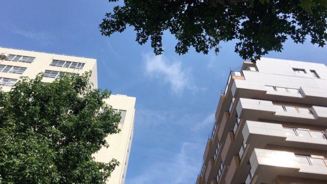 福岡市博多区の夏空